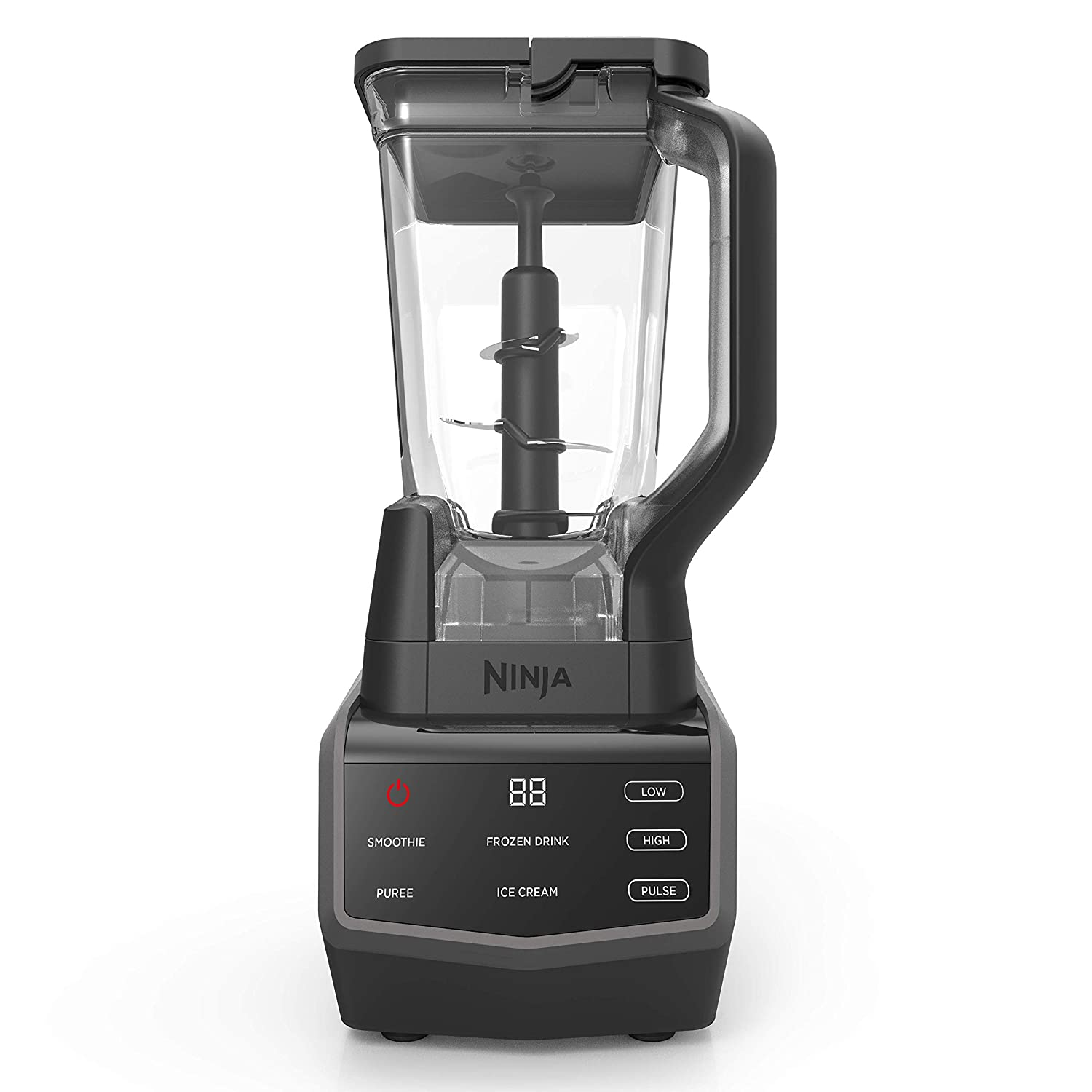 Ninja Smart Screen Blender with 1000-Watt Base, 4-Auto-iQ Programs, Touchscreen Display, Total Crushing Pitcher, (CT650), Black