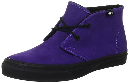 Vans Chukka Slim Vulcanised - Zapatillas de Lona para hombre Púrpura violeta, color Morado, talla 35 UE/3 UK: Amazon.es: Zapatos y complementos