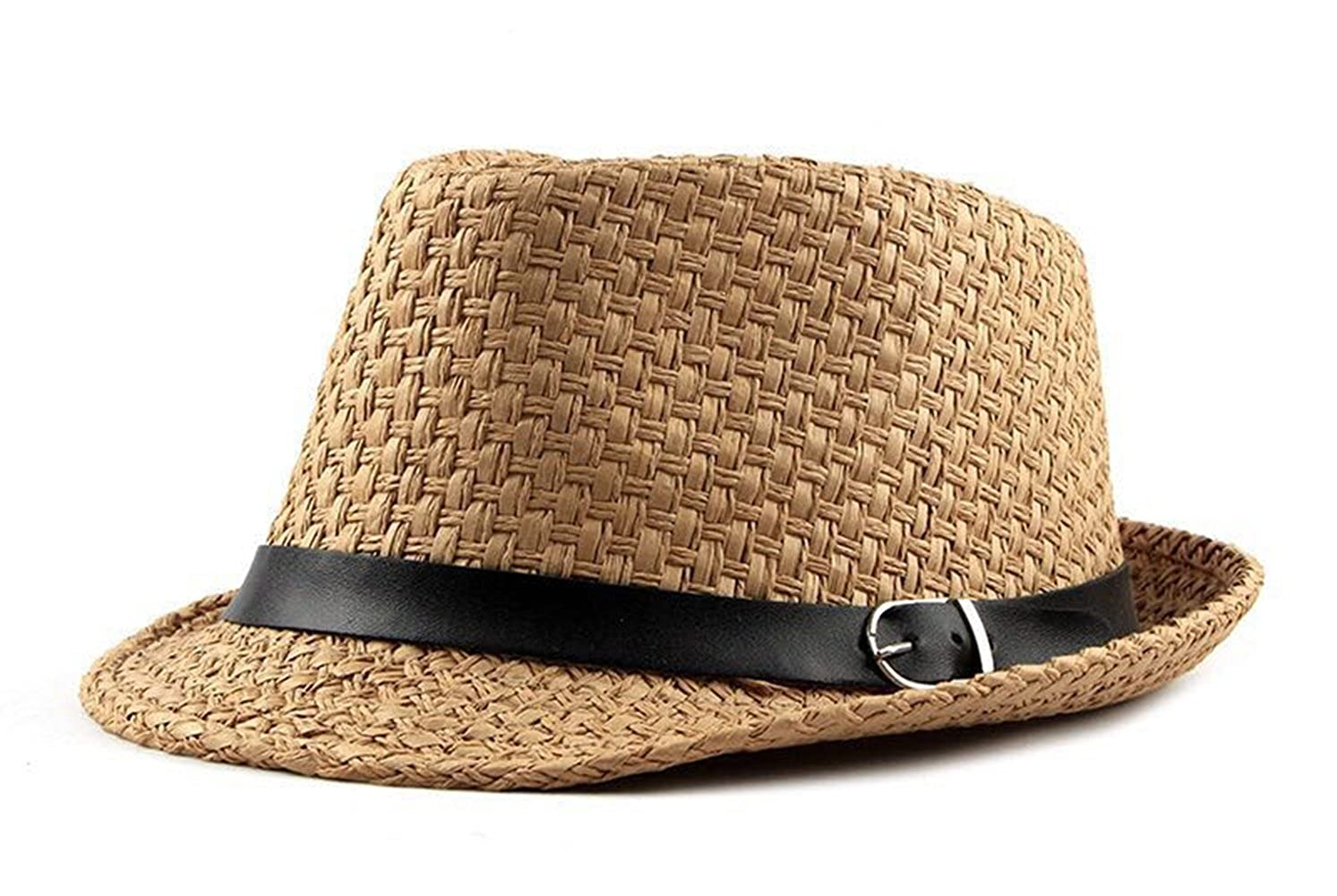 Panama Straw Hat Fedora Hat for Men Boater Hat Summer Travel Sun Protection Sun Hat FF-Z15