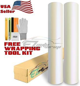 Vvivid Xpo 5ft x 50ft white matte vinyl roll with tool kit