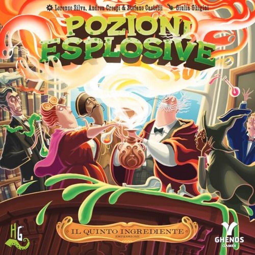 Horrible Games peqi Quinto El ingrediente Expansión para Juegos Pozioni esplosive: Amazon.es: Juguetes y juegos