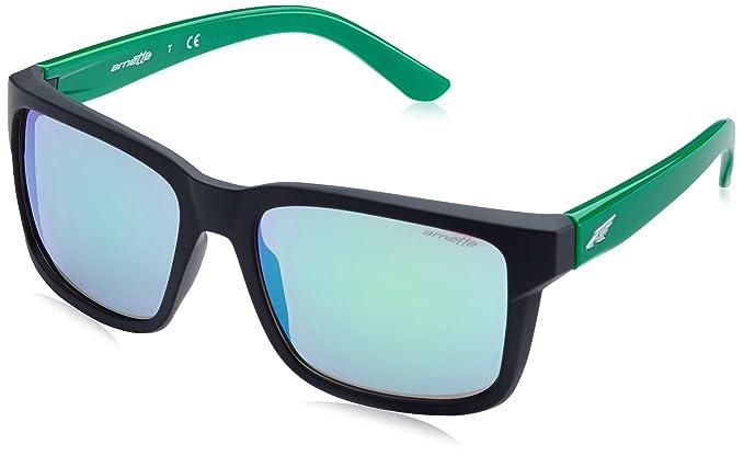 Arnette 23343R, Gafas de Sol Unisex-Adulto, Fuzzy Black, 57