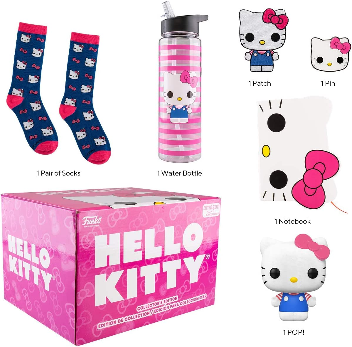 Pink Fairy Tale Collection Hello Kitty Notebook Set