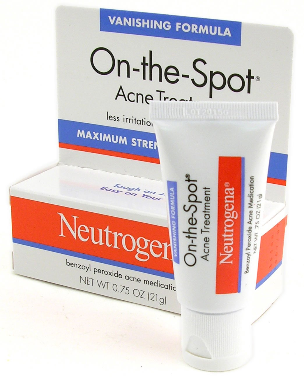 Amazon Com Neutrogena On The Spot Acne Treatment 0 75 Oz 21 G