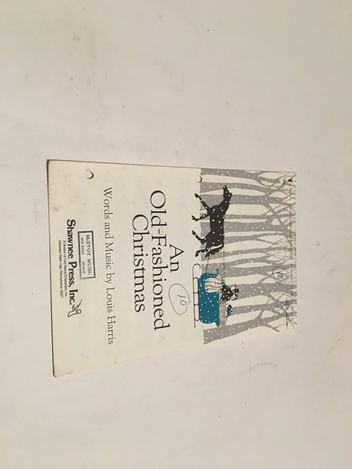 Amazon.com: AN OLD FASHIONED CHRISTMAS SHEET MUSIC: Musical Instruments