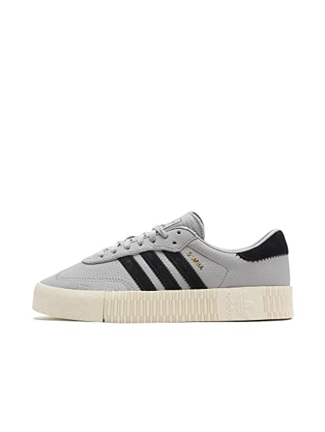 adidas Originals Damen Sneakers Sambarose grau 41 1/3