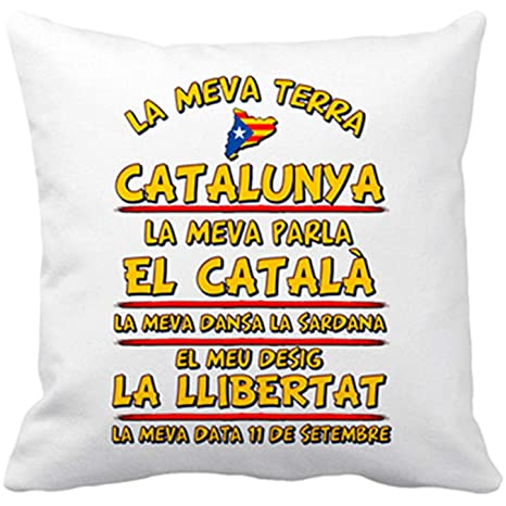Diver Bebé Cojín con Relleno La meva Terra Catalunya ...