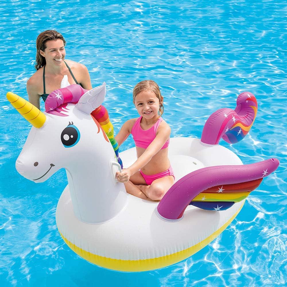 Unicornio hinchable tamaño mediano