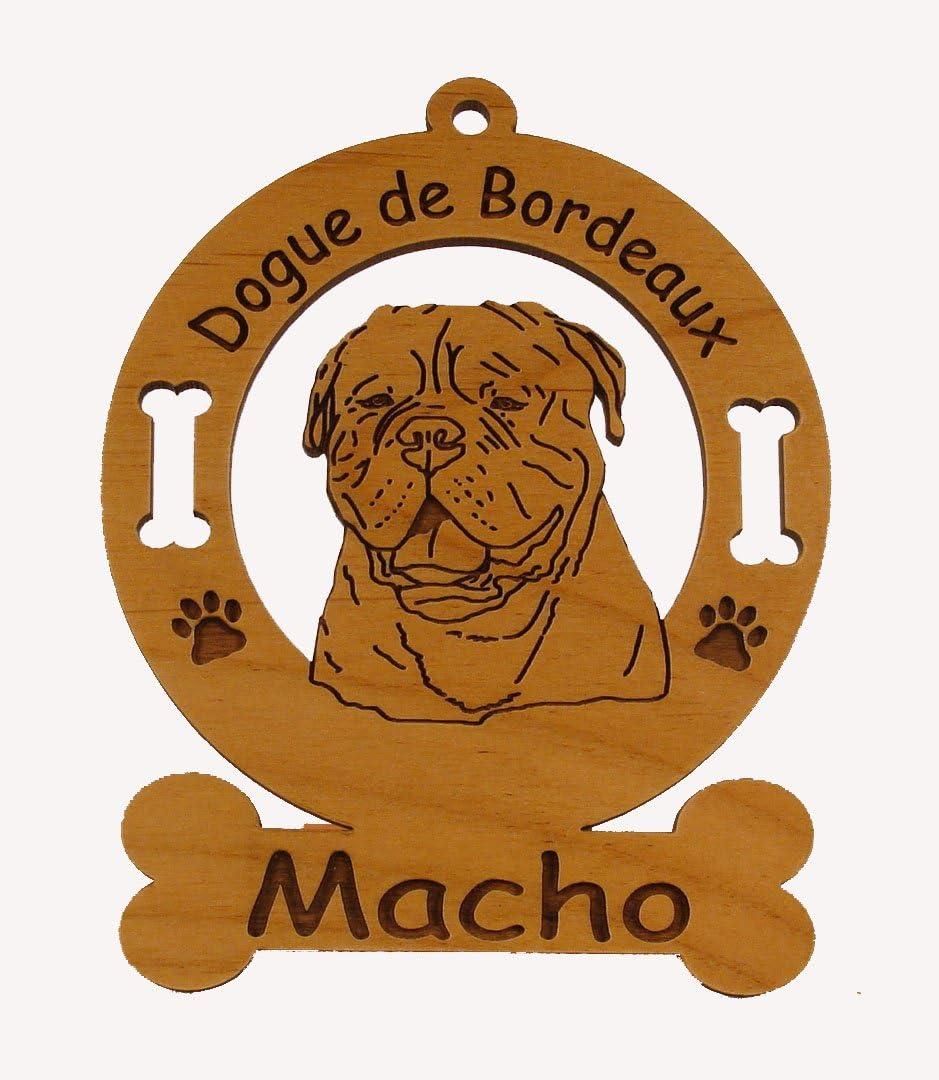 Porcelain Figurine of the Dogue de Bordeaux Mastiff dog