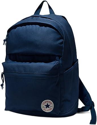 f2b9b4a050abe9 Amazon.com  Converse Poly Chuck Plus 1.0 Backpack - Navy - OS  Clothing