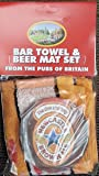 Newcastle Brown Ale Baumwolle Bar Handtuch Und 10Karte Bierdeckeln (PP)