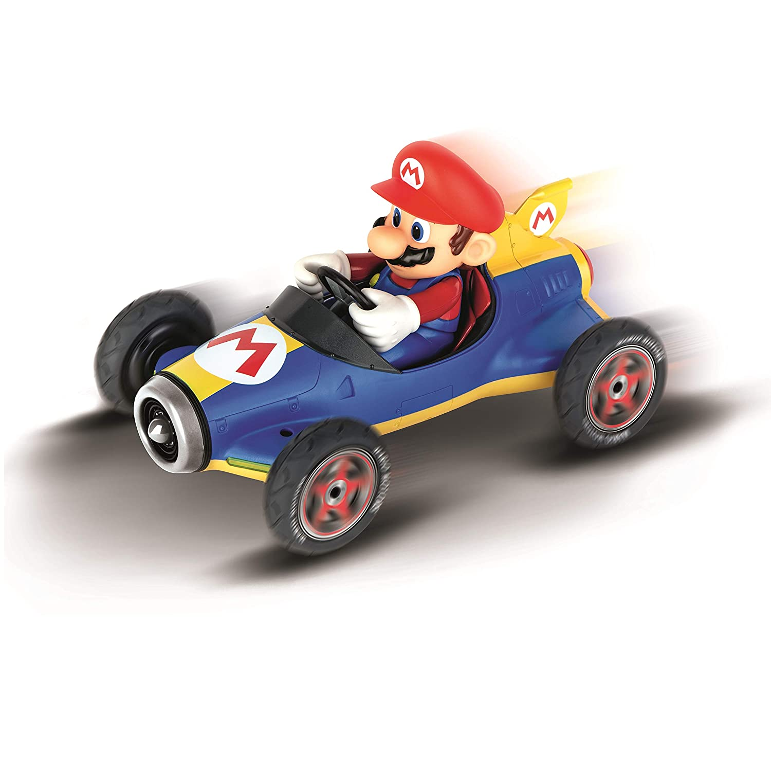 Carrera RC 370181066 Official Licensed Kart Mach 8 Mario 1 18 Scale 2.4 Ghz Remote Control Car with Rechargeable Lifepo4 Battery Kids Toys Boys//Girls