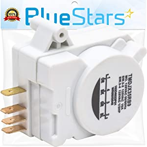 Ultra Durable WR9X483 Defrost Timer Replacement Part by Blue Stars – Exact Fit For GE & Kenmore Refrigerators – Replaces WR09X10130 WR9M418 WR9X10075