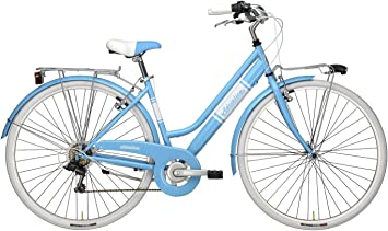 Adriatica Bicicleta Clasica Mujer - Panarea Donna (Azul): Amazon ...