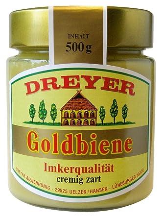 Dreyer - Goldbiene Honig - 500g: Amazon.de: Lebensmittel & Getränke