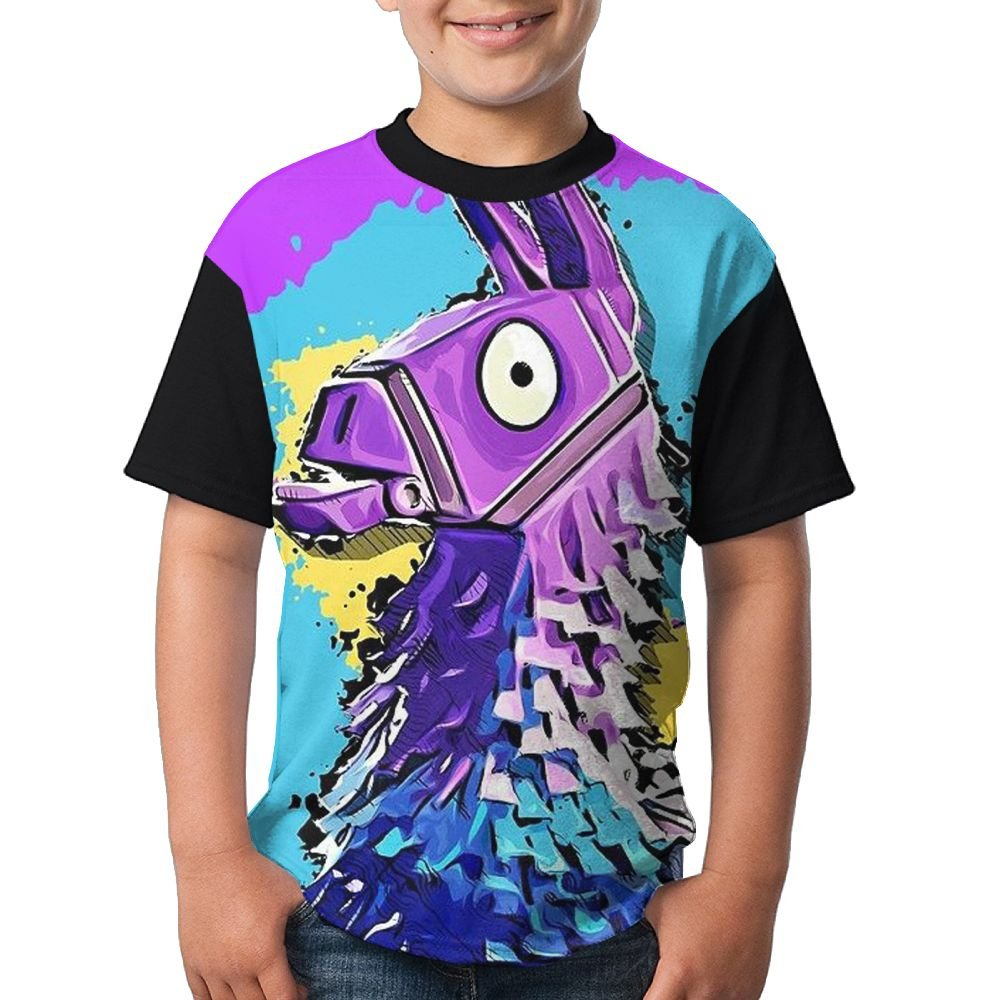 Youth Boys Short Sleeve Crew Neck Top T Shirt XL