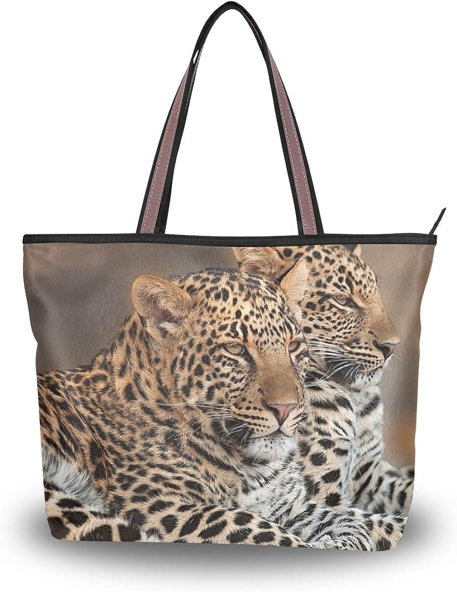 InterestPrint Custom Flower Dandelion Floral Leather Tote Bag//Handbag//Shoulder Bag for Wome.