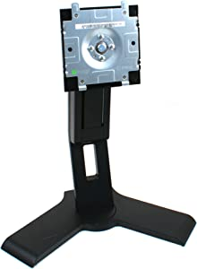 Genuine Dell P190s Black LCD Computer Monitor Screen Stand Base Platform Pedestal, For Select Dell 17-19
