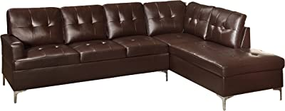 Amazon Com Darie Sectional Sofa With Left Side Chaise
