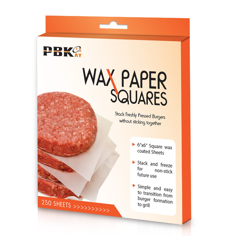 Wax Paper Hamburger Sheets