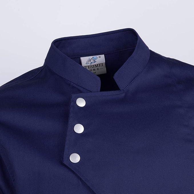Sharplace Chaquetas de Chef de Mangas Largas Camisa de Camarero Ropa de Trabajo Unisex: Amazon.es: Ropa y accesorios