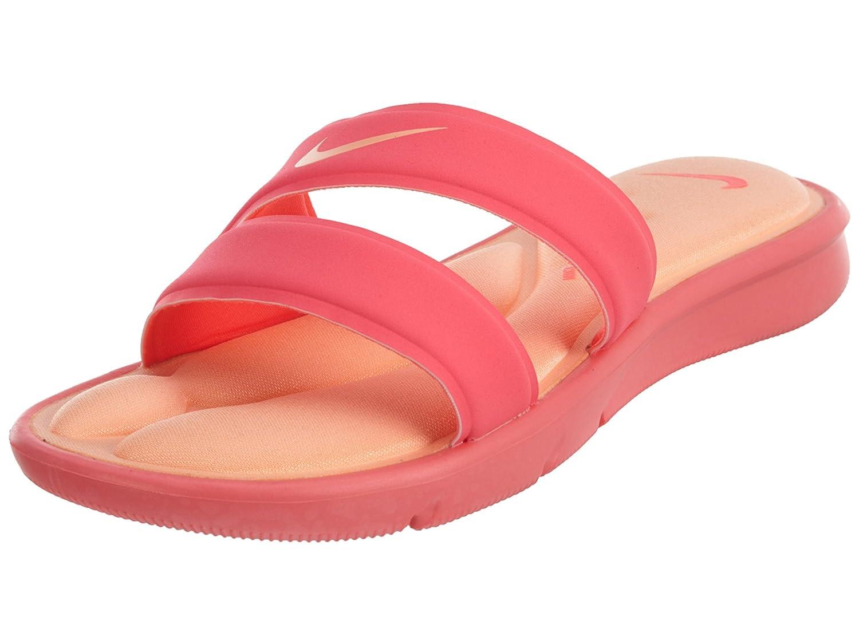 NIKE Women's Ultra Comfort Slide Sandal B01F49YJOO 7 B(M) US|Racer Pink/Sunset Glow
