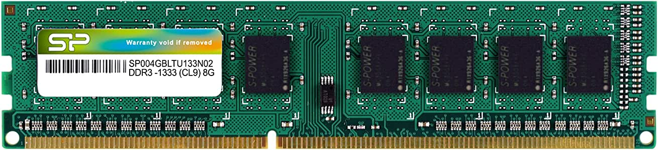 SILICON POWER DDR3-1333 4 Go Blister Silicon SP004GBLTU133V02
