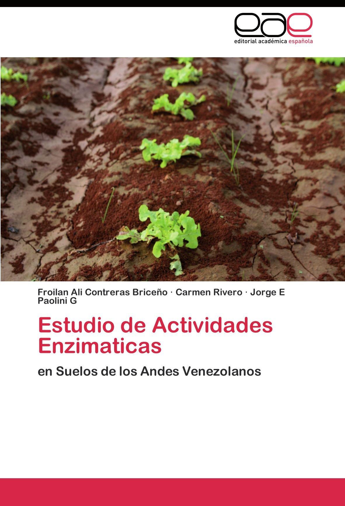 Estudio de Actividades Enzimaticas: Amazon.es: Contreras ...