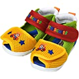 ミキハウス ホットビスケッツ (MIKIHOUSE HOT BISCUITS) 子供靴 ベビーサンダル 72-9304-973 14cm マルチカラー