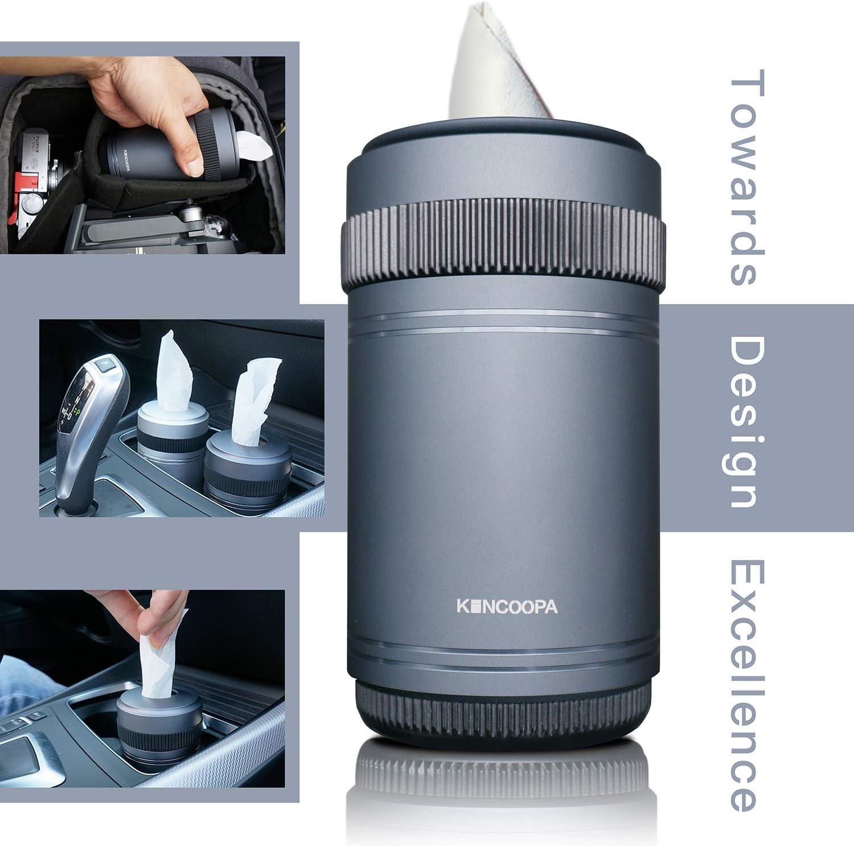 Kincopa Papierhalter Für Auto Becherhalter Zuhause Küche Badezimmer Schiefergrau Design Inspiriert Von Fotoobjektiven Auto