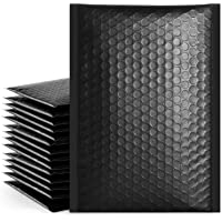 Fuxury Small Black Bubble Mailers 6x10 Self-Seal Shipping Bags 25 Pack, Poly Bubble Mailers, Packaging Bags, Mailing…