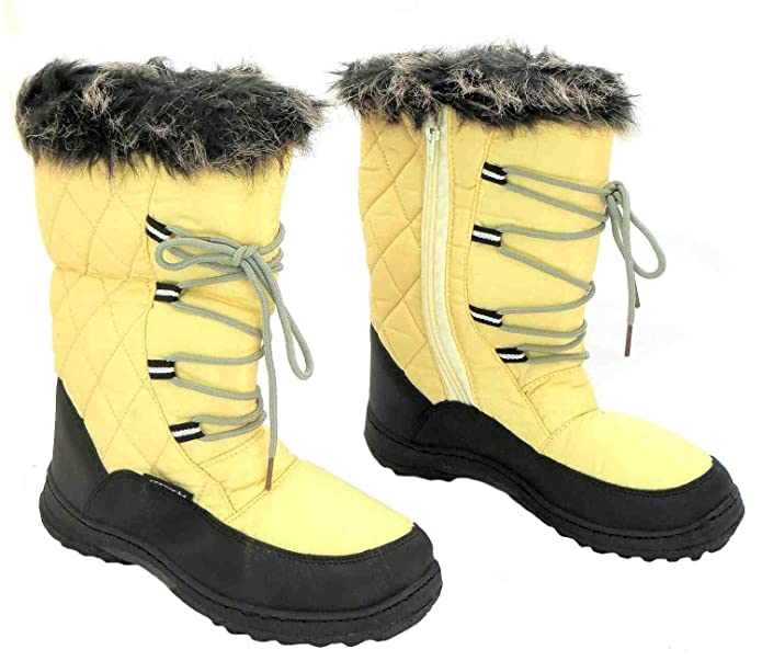 Size 8 Cotswold Women's Gale Synthetic Winter Snow Boots: Amazon.co.uk:  Shoes & Bags