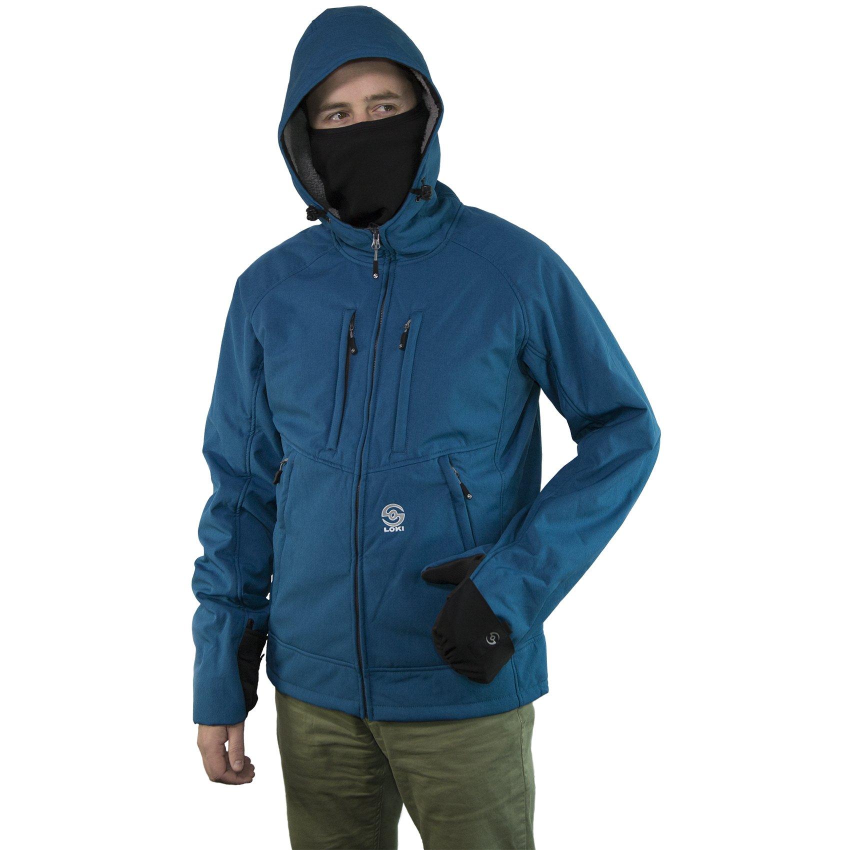 Mtn Hood Extreme Men Blue Lg by Loki