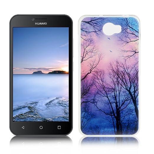 7 opinioni per OuDu Cover Huawei Y5 II/Y5 2 Custodia TPU Silicone Cassa Gomma Soft Silicone