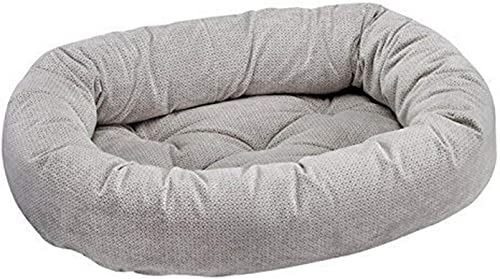 Bowsers Donut Bed, Medium, Silver Treats