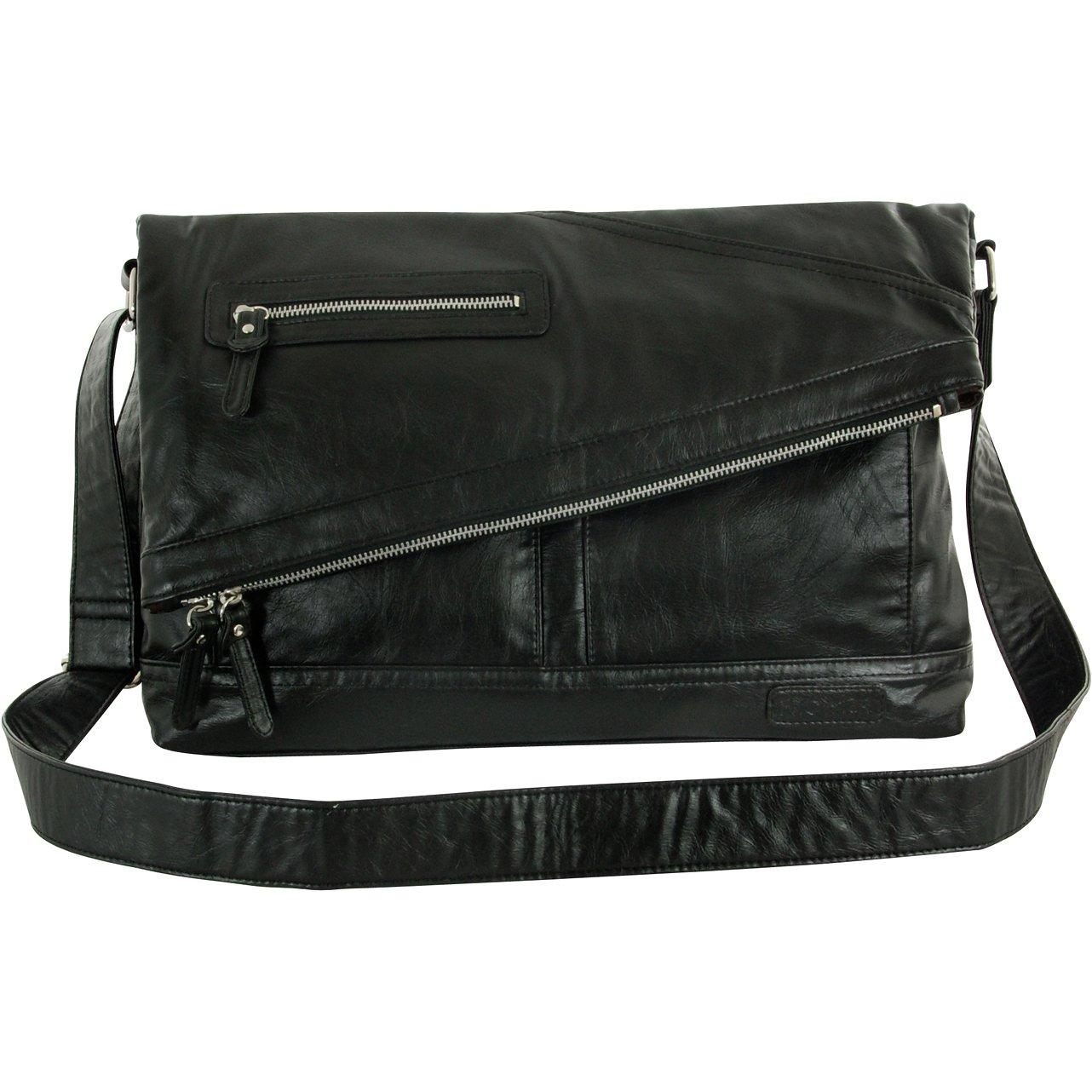 [トリックスター] TRICKSTER ERIC shoulder bag B009KGOI8K ブラック ブラック