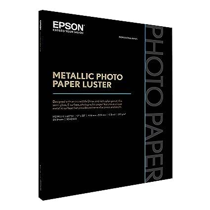 Epson s045598 431 x 558 mm Candelabros blanco papel Impresora de ...