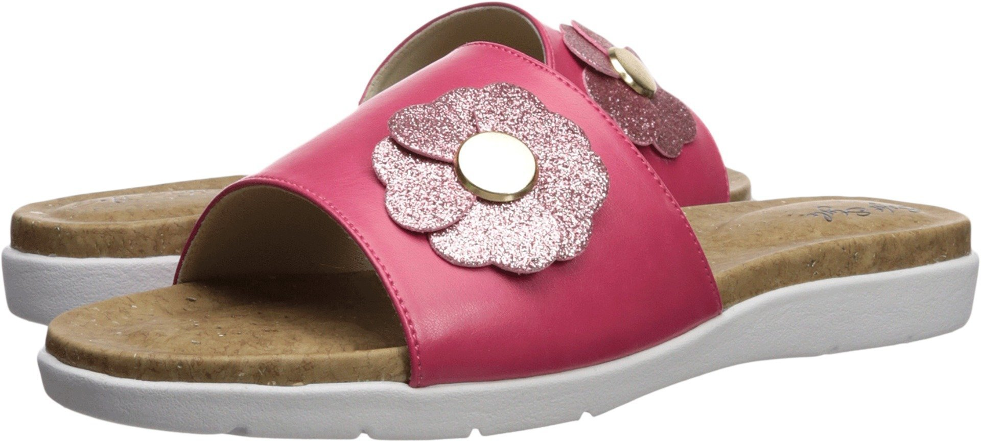 Soft Style by Hush Puppies Women's Laurie Sandal, Azalea Vitello, 09.5 W US