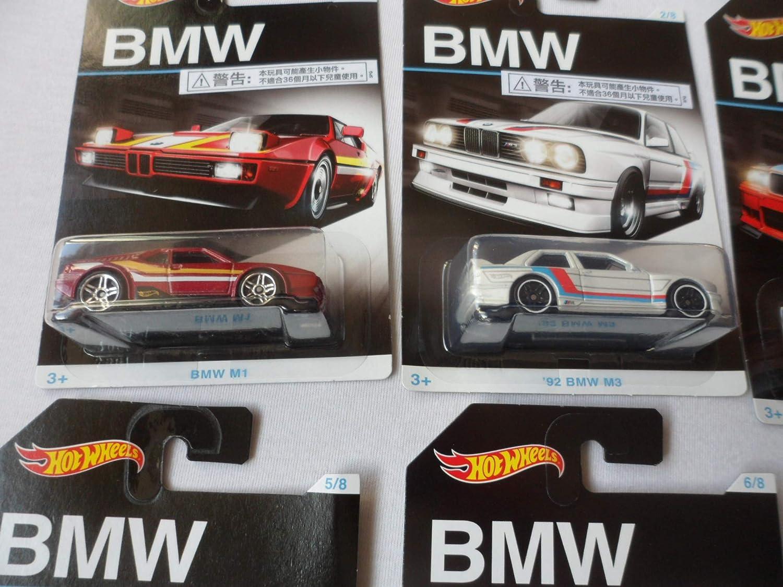 CHOOSE FROM LIST Z4 M Hotwheels BMW ANNIVERSARY ASSORTMENT M1 M3 GT2
