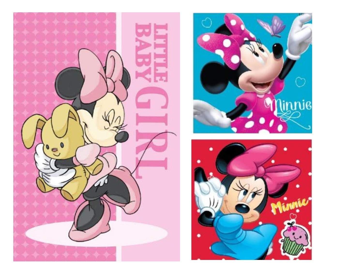 17 Küche, Haushalt & Wohnen Disney Minnie Maus Handtuch 17 Stück