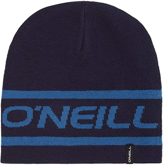 Navy//Blue ONEILL BM Reversible Logo Beanie Hat