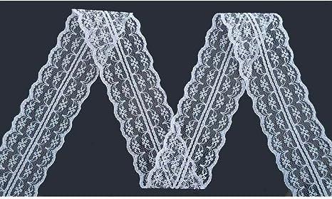 Yulakes 2 x 10 meter Vintage Spitzenbordüre 4.5cm Breite Spitzenbordüre...