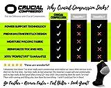 Compression Running Socks for Men & Women - Low Cut