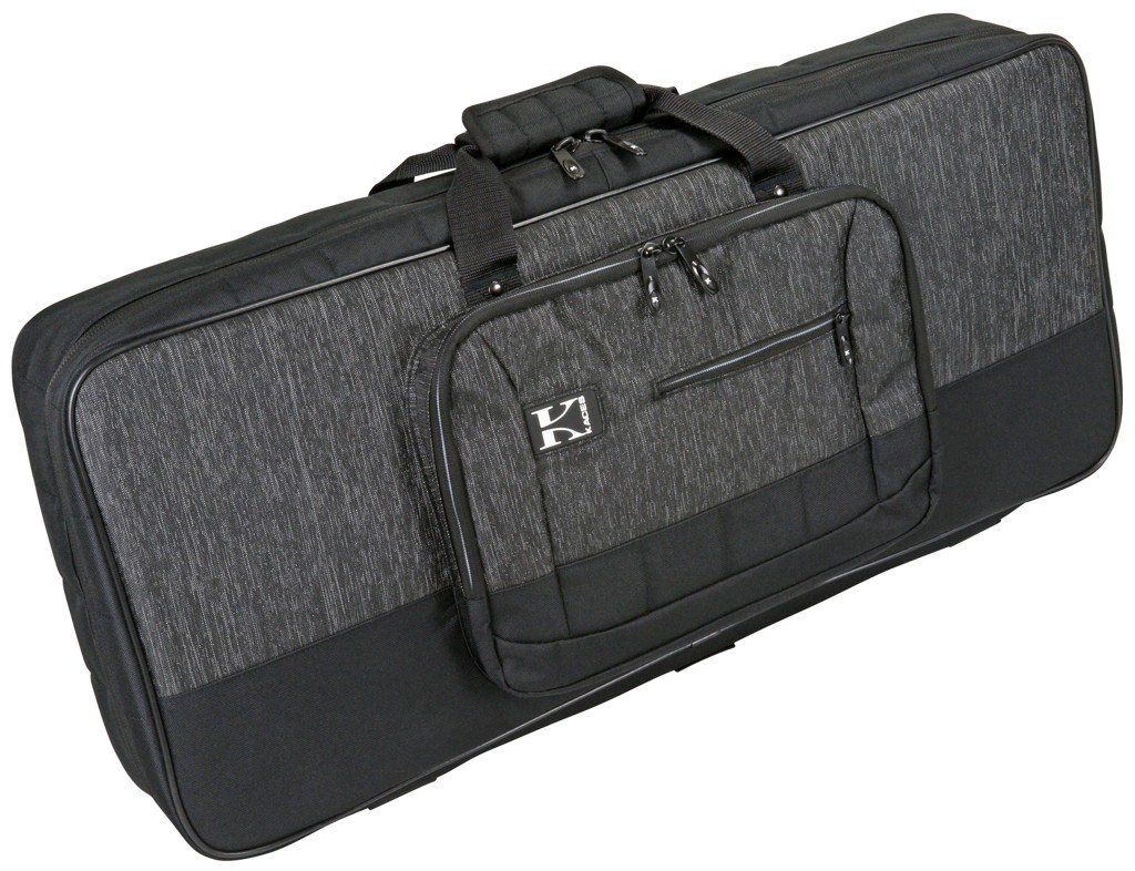 Kaces KB3013 Luxe Series Keyboard Bag, 49 Note Small