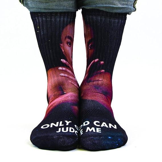 Samson® mano impreso 3d sublimación calcetines famoso celebridades Tubo Redondo Odd moda calle Casual Calzado