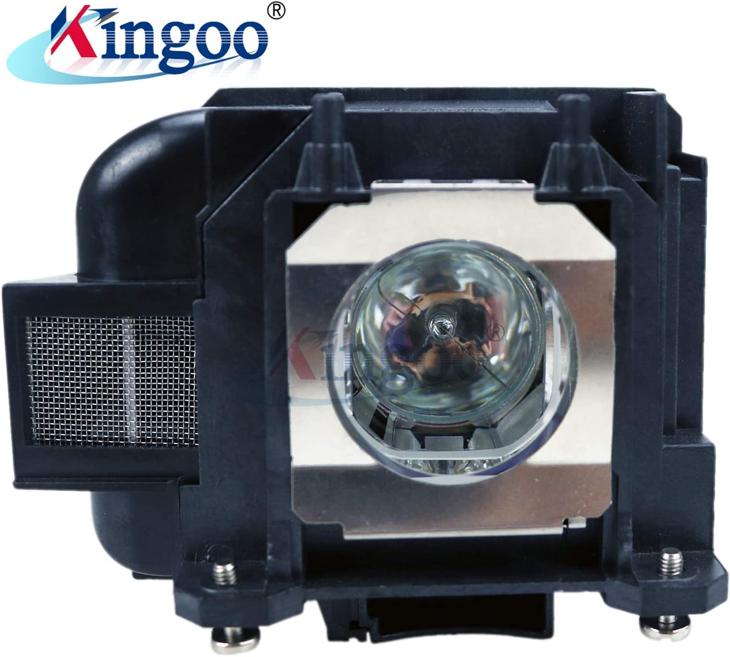 Kingoo Excellent Projector Lamp for EPSON EB-W130 EB-W29 EB-W31 EB-W32 EB-W420 EB-X04 EB-X130 EB-X27 EB-X29 EB-X300 EB-X31 EB-X350 EB-X36 EH-TW5210 EH-TW5300 Replacement Projector Lamp with Housing