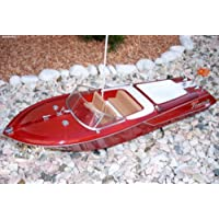 BUSDUGA RC Venezia ferngesteuert SCHIFF BOOT Yacht Riva Optik RENNBOT ready-to-run