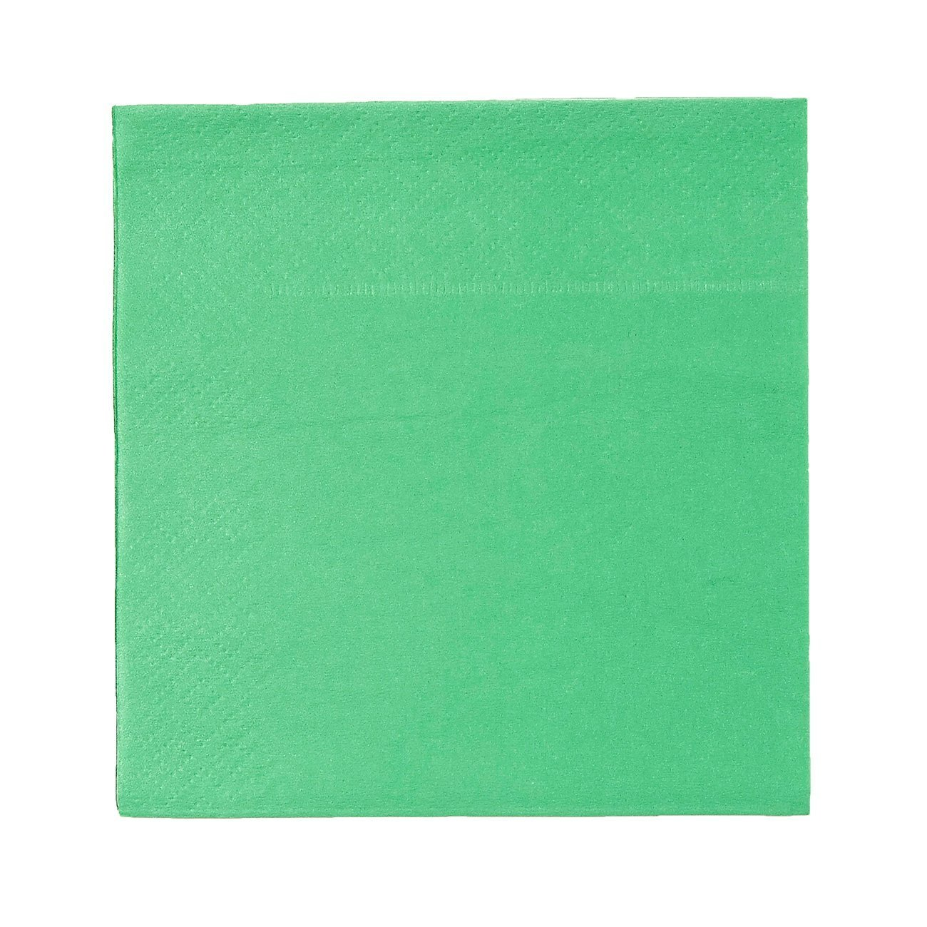 Cocktail Napkins - 200-Pack Disposable Paper Napkins, 2-Ply, Kelly Green, 5 x 5 Inches Folded