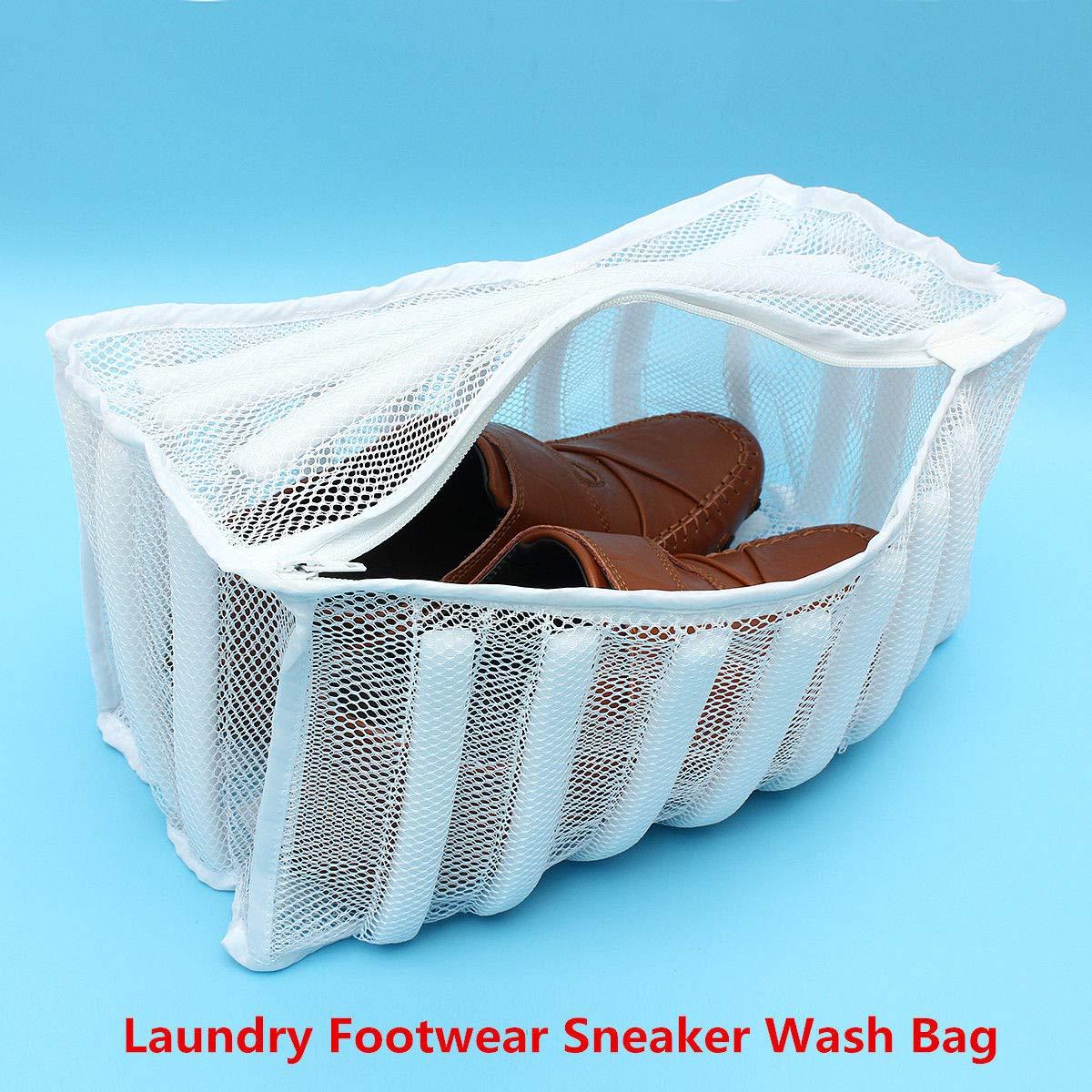 靴ランドリー洗濯バッグメッシュネットランジェリー下着服靴洗濯バッグ B07G4JWCP5