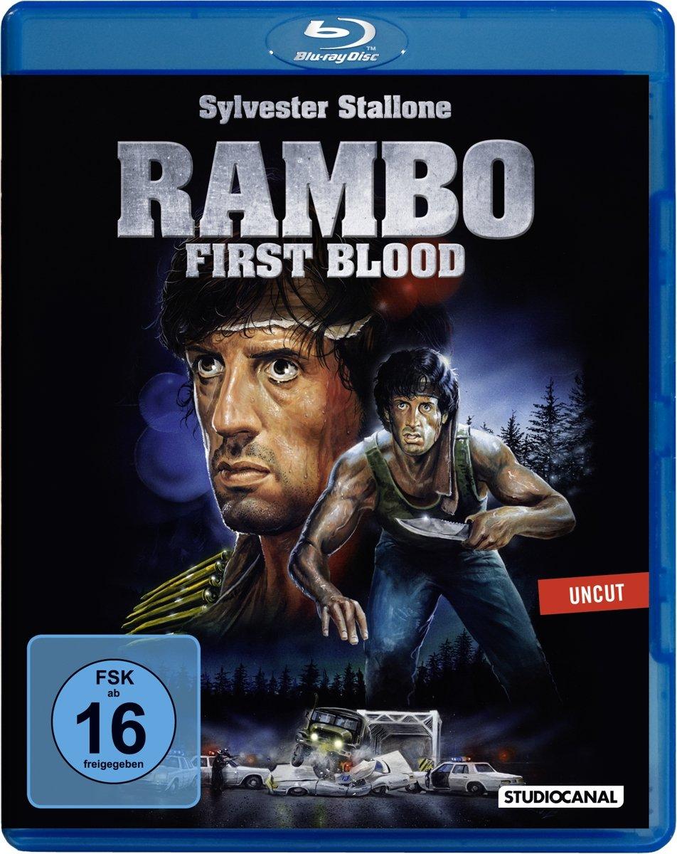Rambo 1 - First Blood - Uncut [Alemania] [Blu-ray]: Amazon.es: Cine y Series TV
